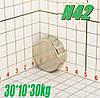 Постійний магніт неодимовий 30*10*30кг, N42, ПОЛЬША ☀ПІДБІР☀ОБМІН☀ГАРАНТІЯ☀, фото 2