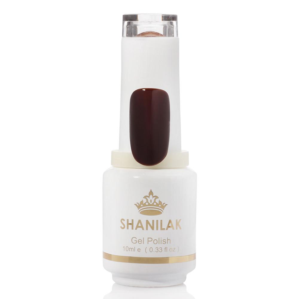 Shanilak Гель-лак 26 темный бордово-коричневый 10 мл