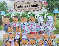 Набор флоксовых животных Happy Family 012-02С, (в ассортименте)