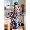 Пижама женская хлопковая LNS 406 KEY Польша, фото 5