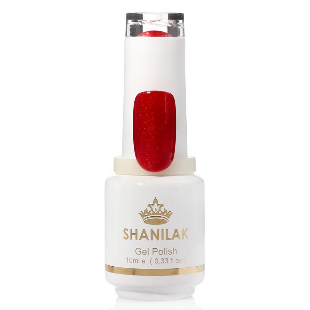 Shanilak Гель-лак 21 карминово-красный 10мл