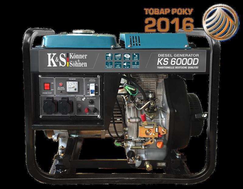 Дизельный генератор Konner&Sohnen KS6000D