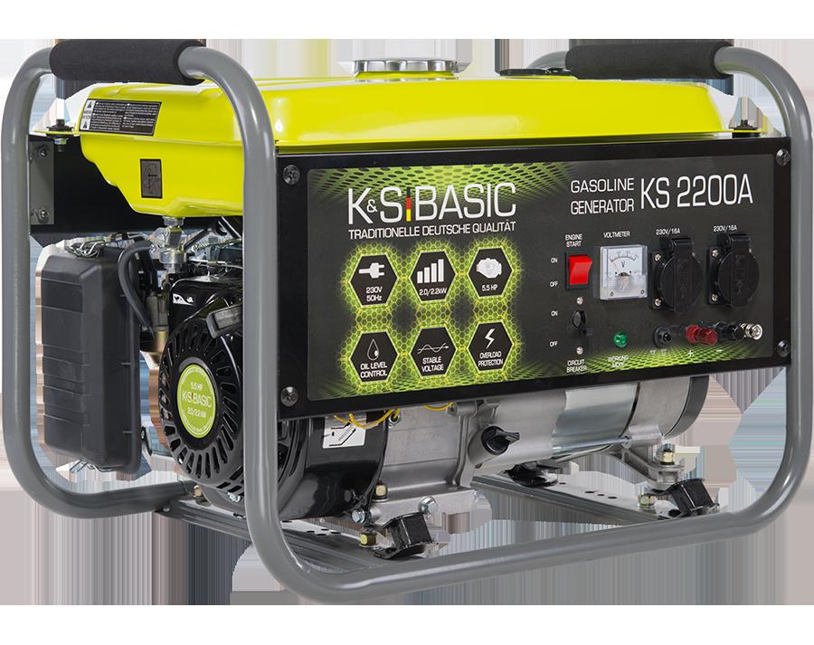 Генератор бензиновый Konner&Sohnen Basic KS 2200A