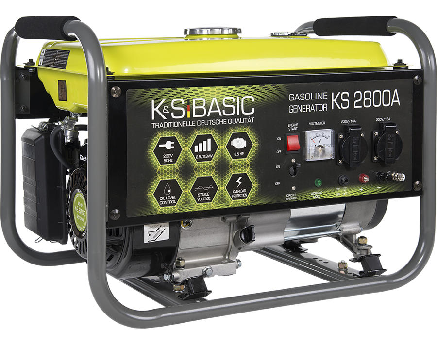 Генератор бензиновый Konner&Sohnen Basic KS 2800A