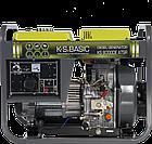 Генератор дизельный Konner&Sohnen Basic KS 8000DE ATSR, фото 2