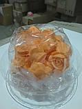 """Набір """"Троянди d 25"""" (оранжева), фото 3"""