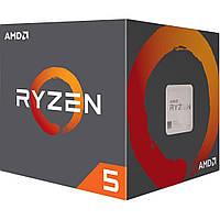 Игровой процессор AMD Ryzen 5 1400 4 ядра 8 потоков 3.2-3.4 GHz (YD1400BBAECBX) BOX
