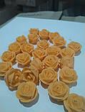 """Набір """"Троянди d 25"""" (оранжева), фото 2"""