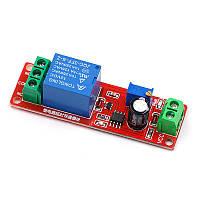 Таймер затримки NE555 відключення або включення 12В, 10A / AC 250В, 0-10 секунд