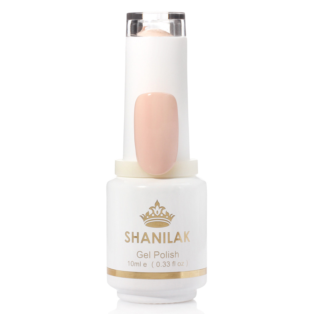 Shanilak Гель-лак 10 бежево-розовый 10мл