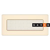 Вентиляционная решетка для камина SAVEN 11х24 кремовая