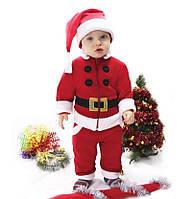 """Костюм детский """"Санта"""" 3-х предметный."""