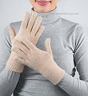Теплые шерстяные перчатки PR-6 жемчуг