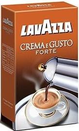 Кофе молотый Lavazza Crema e Gusto GUSTO FORTE (в сер. уп.) 250г