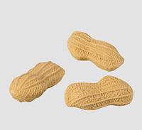 Резинка  Арахис в наборе 3 шт бежевая