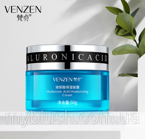 Увлажняющий крем Venzen HA Hyaluronic Acid Cream с гиалуроновой кислотой 50 g