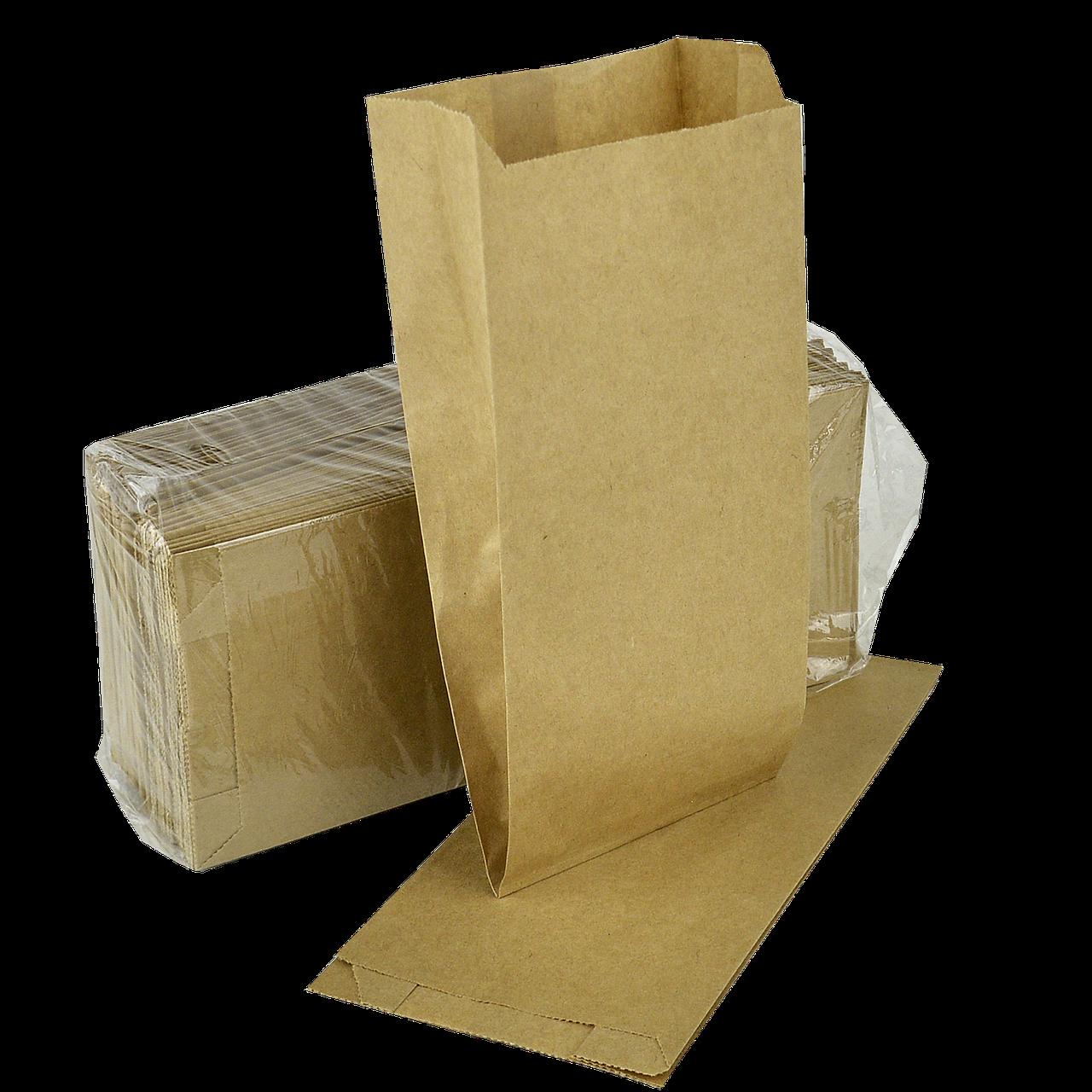 Пакет паперовий  220*100*50 100шт  Крафт (896)