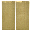 Пакет паперовий  220*100*50 100шт  Крафт (896), фото 3