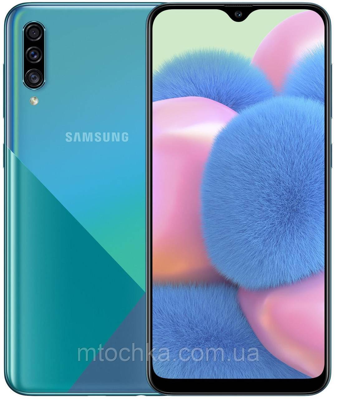 Телефон Samsung SM-A307F Galaxy A30S 2019 3/32GB Duos green