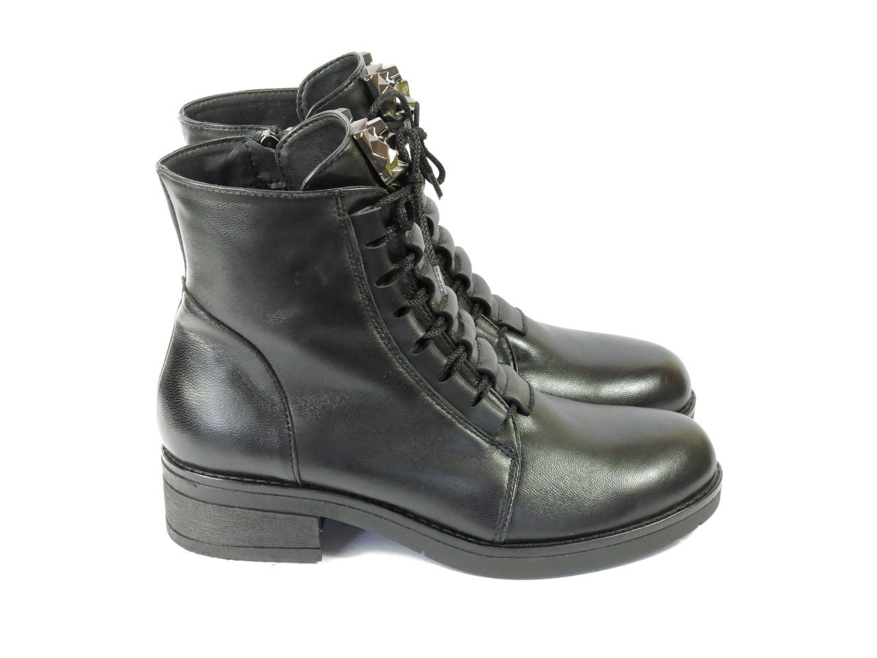 Женские ботинки на шнурках Lonza 134842 36