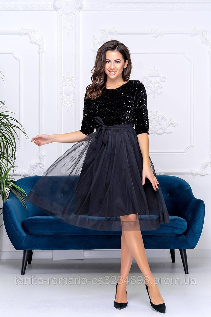 Коктейльна сукня Діора чорного кольору