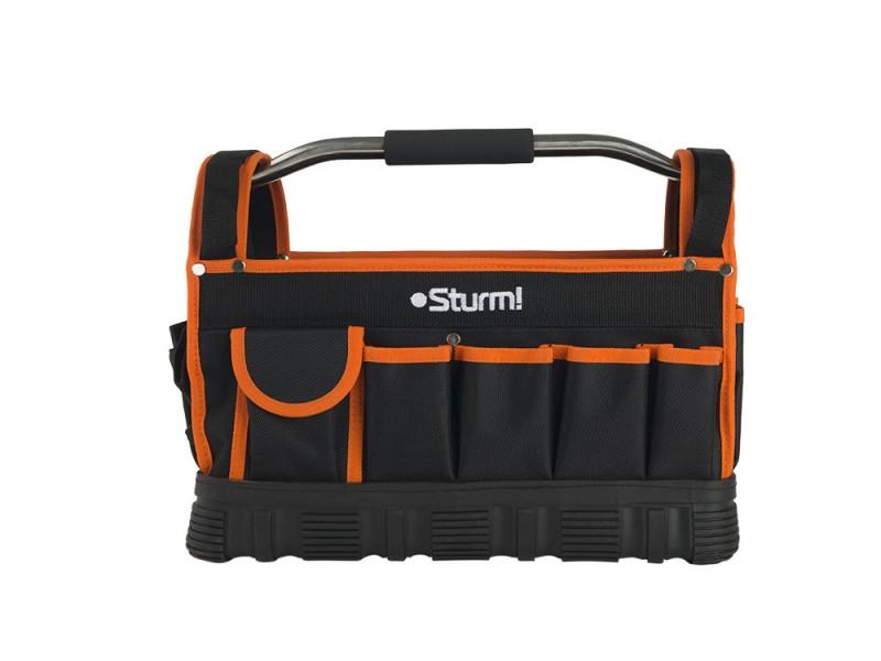 Сумка для инструментов, 22 кармана, 400х200х320 мм, Sturm (TB0040)