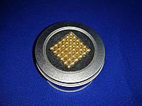 Головоломка магнитная Magnetic Cube (Неокуб) Золото