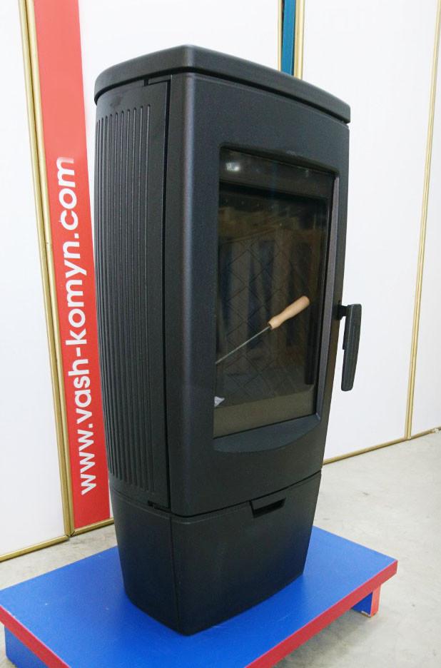Піч чавунна Plamen Gala чорна