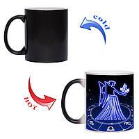 Чашка хамелеон Знак зодиака Дева 330 мл