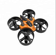 Міні Квадрокоптер на Радіокеруванні RunHuz RTF + гіроскоп, підсвічування, трюки на 360 градусів Чорно-помаранчевий