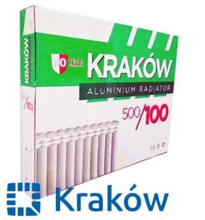 Радиатор алюминиевый Krakow 500/100, фото 2