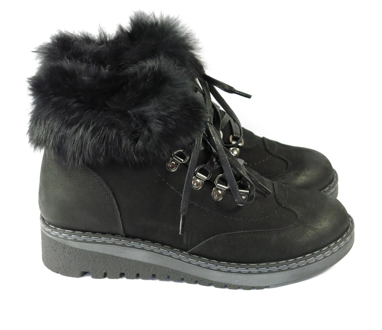 Ботинки женские с мехом Lonza 133245 36