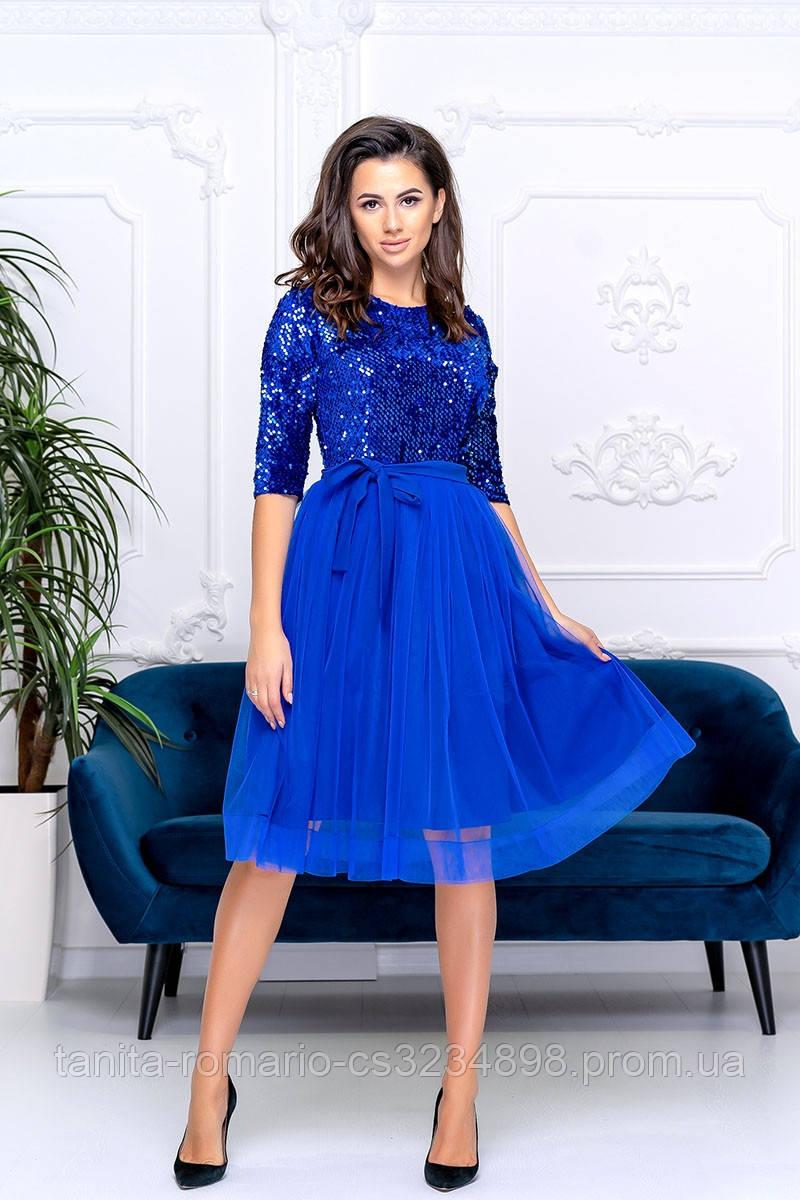 Коктейльна сукня Діора блакитного кольору