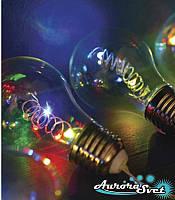"""LED гирлянда ЛАМПОЧКИ """"ГАЛАКТИКА"""" 2,70 м на 50 светодиодов RGB. Светодиодная гирлянда. Производство Франция."""