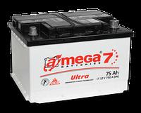 Автомобильный аккумулятор   A-Mega7 75-А (-- +)  ультра  790А (0)