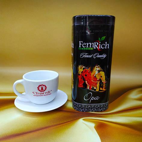 Черный чай ФемРич Королевский Слон - цейлонский чай FemRich Finest Quality OPA 300 г, фото 2