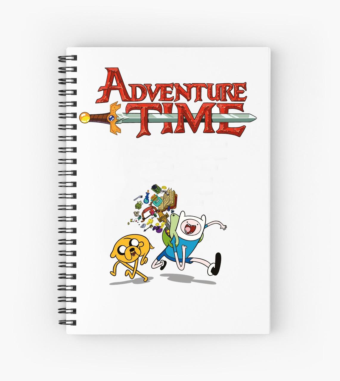 Блокнот Adventure Time  1