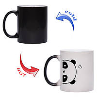 Чашка хамелеон I Love Panda 330 мл