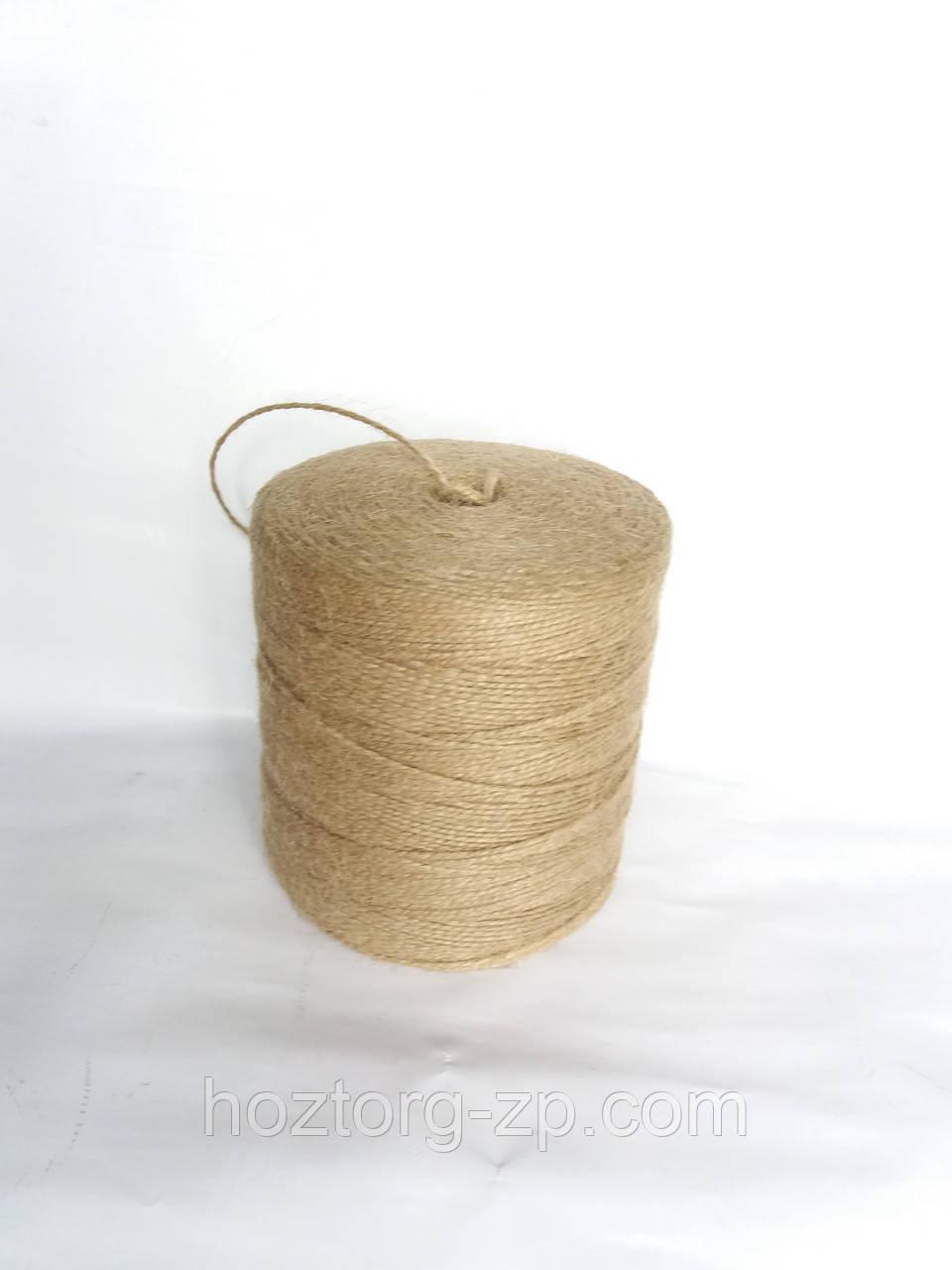 Шпагат джутовый для вязания 1,5 мм