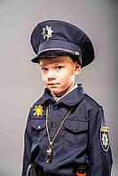 """Детский карнавальный костюм  """"Полицейского"""" люкс для мальчика"""