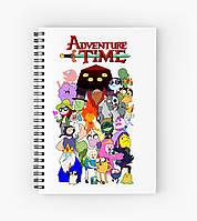 Блокнот Adventure Time 3