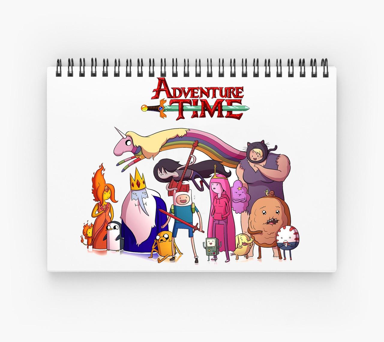 Блокнот Adventure Time 4