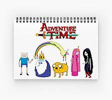 Блокнот Adventure Time 5