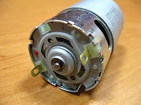 Двигатель аккумуляторного шуруповерта 14,4В шестерня 8 мм 9 зубов, фото 2
