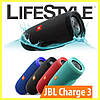 JBL Charge 3 Портативная Bluetooth колонка + Подарок! Наушники Apple