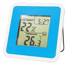 Термометр-гигрометр цифровой Т-06 blue