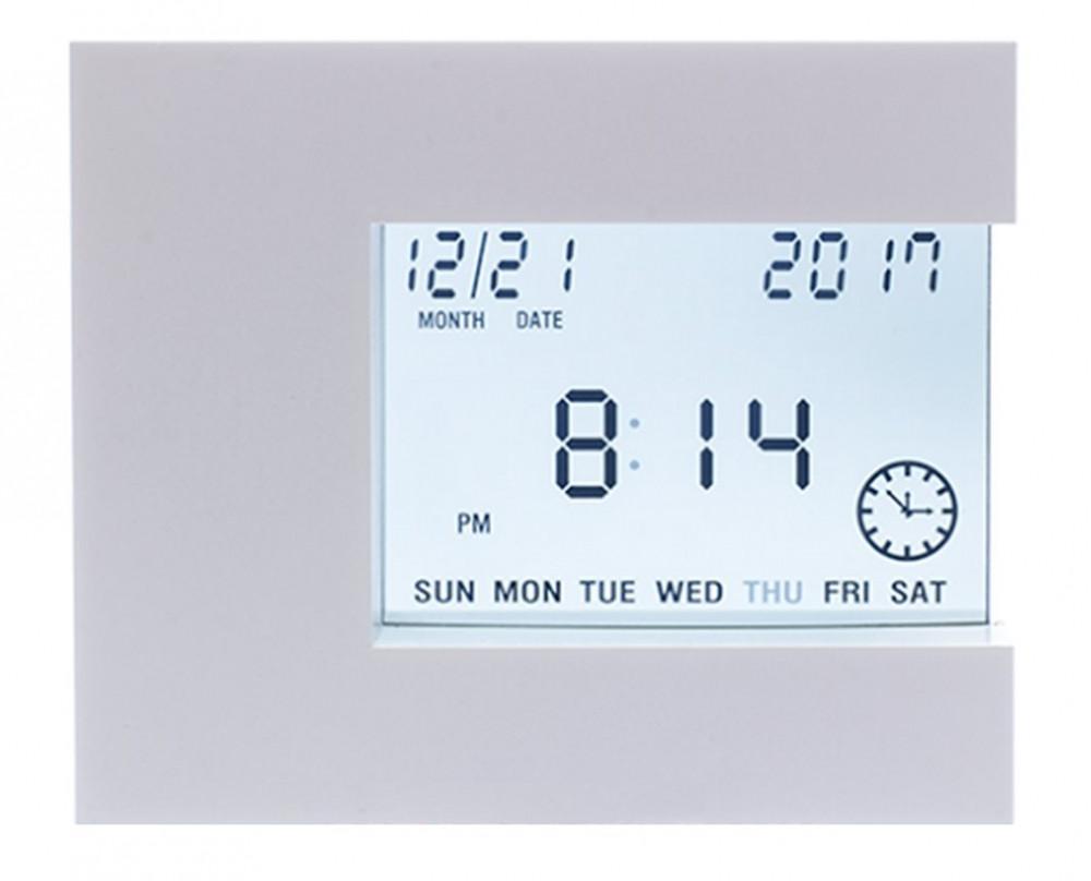 Термометр-гигрометр цифровой Т-08 wh