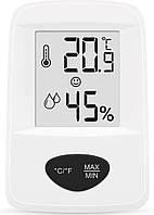 Термометр-гигрометр цифровой Т-18 (-12+50°С) wh