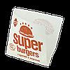 """Куток паперовий """"Super Burgers"""" 140*140мм 500шт (33), фото 3"""
