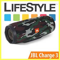 Беспроводная колонка JBL Charge 3 / Портативная блютуз колонка + Наушники в Подарок Камуфляж